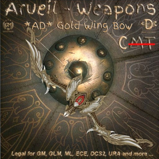 AD Gold Wing Bow