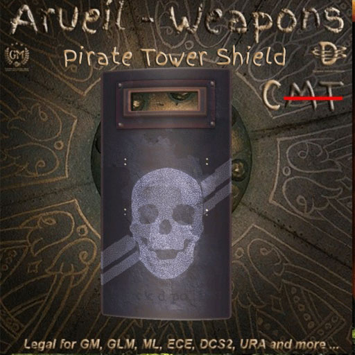Pirate Tower Shield