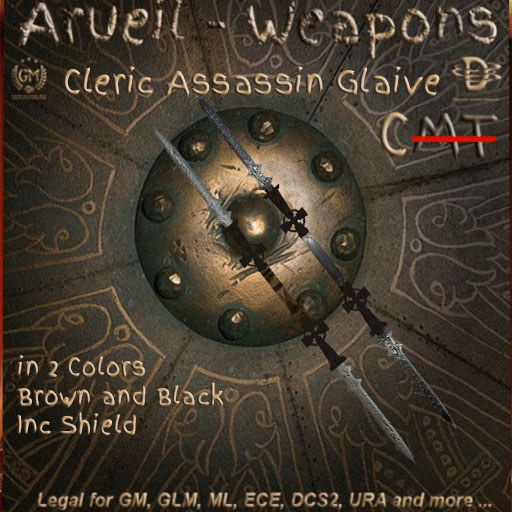 Cleric Assassin Glaive